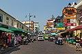 2016 Bangkok, Dystrykt Phra Nakhon, Ulica Khaosan (08).jpg