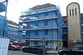 2016 Woolwich, Barnfield Estate renovation 04.jpg