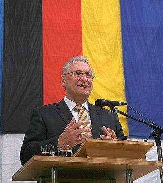 Joachim Herrmann (CSU) - Herrmann, speaking in Munich in 2017