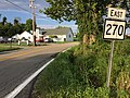 2017-07-23 19 15 23 View east along West Virginia State Route 270 (Main Street) at U.S. Route 19 (Milford Street) in West Milford, Harrison County, West Virginia.jpg