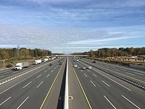 East Windsor Township, New Jersey - The New Jersey Turnpike (I-95) is the largest and busiest highway in East Windsor