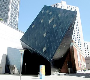 Contemporary Jewish Museum - The deconstructivist addition by Daniel Libeskind (2017)