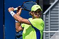 2017 US Open Tennis - Qualifying Rounds - Peter Polansky (CAN) (20) def. Blaz Rola (SLO) (36903727172).jpg