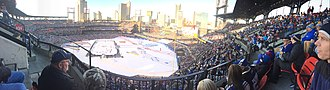 St. Louis Blues - The Blues hosted the Chicago Blackhawks at Busch Stadium for the 2017 NHL Winter Classic.