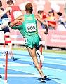 2018-10-16 Stage 2 (Boys' 400 metre hurdles) at 2018 Summer Youth Olympics by Sandro Halank–092.jpg