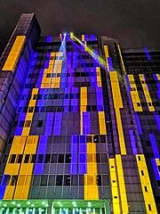 Die Menschen; Lichtskulpturen Beethoven 2020 (Bonn)
