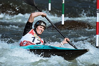 Luuka Jones New Zealand canoeist