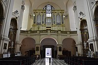 2019 Interior of the Cathedral of Saints Peter and Paul in Brno 02.jpg