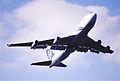 213bk - Air New Zealand Boeing 747-419, ZK-NBT@LHR,13.03.2003 - Flickr - Aero Icarus.jpg