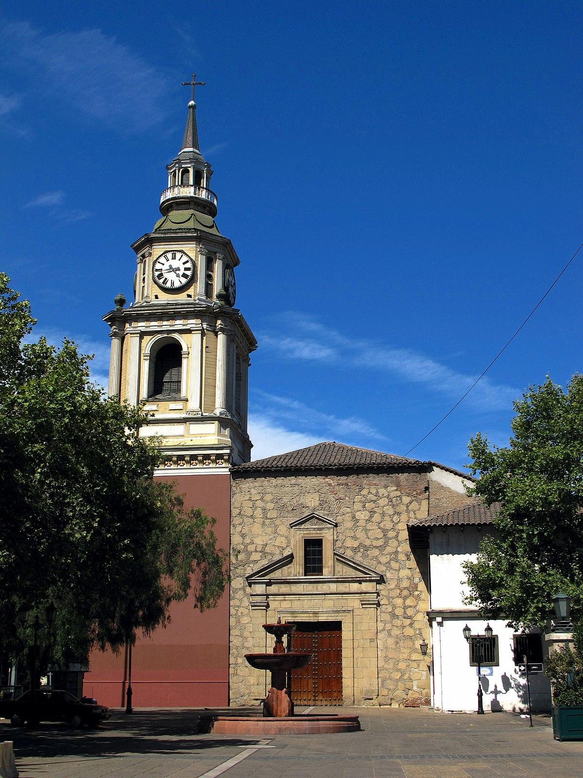 Iglesia de san francisco santiago de chile wikipedia for Construccion de piscinas santiago chile