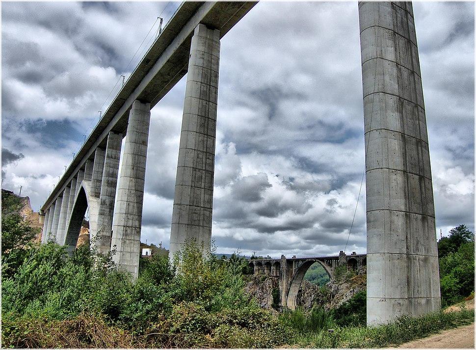 2323-Pontes sobre o rio Ulla en Vedra (Coruña)
