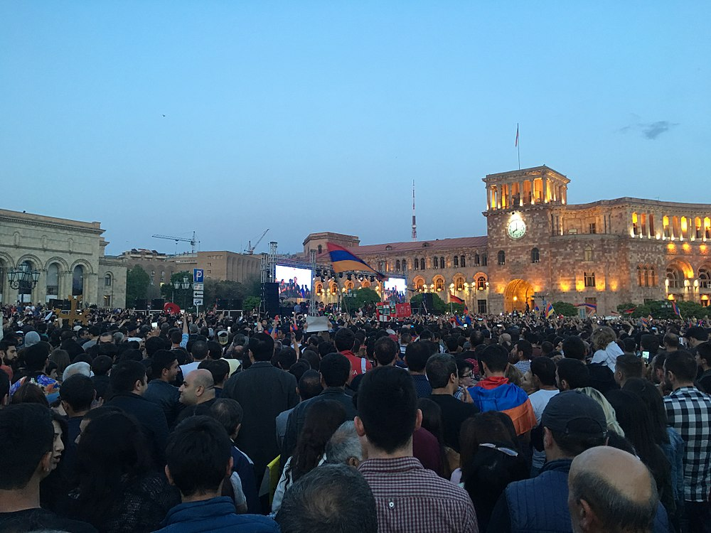 25.04.2018 Protest Demonstration, Yerevan 001.jpg