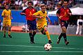 251000 - Football David Barber action - 3b - Sydney 2000 match photo.jpg