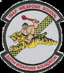 325th Weapons Squadron - ACC - Emblem
