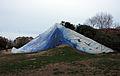 369 Parc de l'Estació del Nord, Cel caigut, de Beverly Pepper.JPG