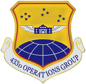 433d Operations Group - Image: 433 Operations Gp emblem