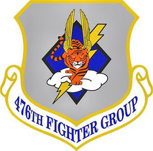 476th Fighter Group - Image: 476thfightrergorup emblem
