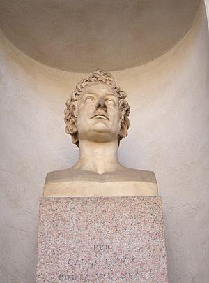 Carlo Porta - Bust of Carlo Porta.