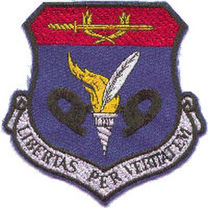 471st Special Operations Wing - Image: 581st Air Resupply Wing Emblem
