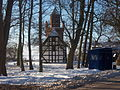 659521 kościół ewangelicki, ob. rzym. - kat. fil. p. w. św. Huberta, XVIII Nowe Warpno 05.JPG