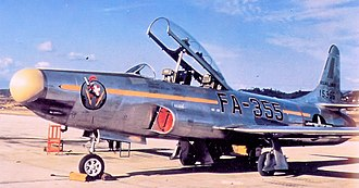 68th Fighter Squadron - 68th Fighter-Interceptor Squadron Lockheed F-94B-5-LO 53-5355, Itazuke AB, Japan, 1954