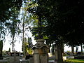 8 Kościelec - cmentarz parafialny nagrobki z 1859 i 1867 r. (26.VI.2006).JPG