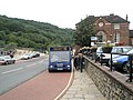 96 bus pulling in at Ironbridge - geograph.org.uk - 1463251.jpg