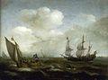 A-dutch-ship-and-a-kaag-in-a-fresh-breeze-1630.jpg