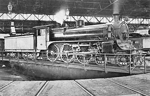 Victorian Railways A2 class - VR photograph of A2 986 in 1916, in original form