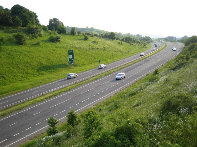 A41 near Tring - geograph.org.uk - 185615