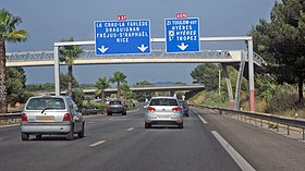 Image illustrative de l'article Autoroute A57 (France)