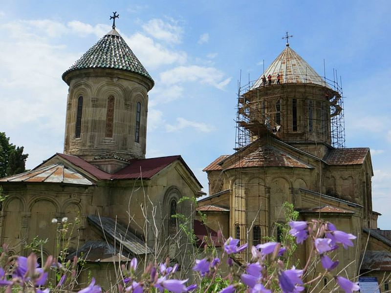 AFCP on Location in the Republic of Georgia. Gelati Monastery 10.jpg