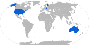 AGM-158 JASSM - Map with AGM-158 operators in blue