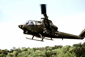 AH-1Q Cobra in Fort Hood, Texas