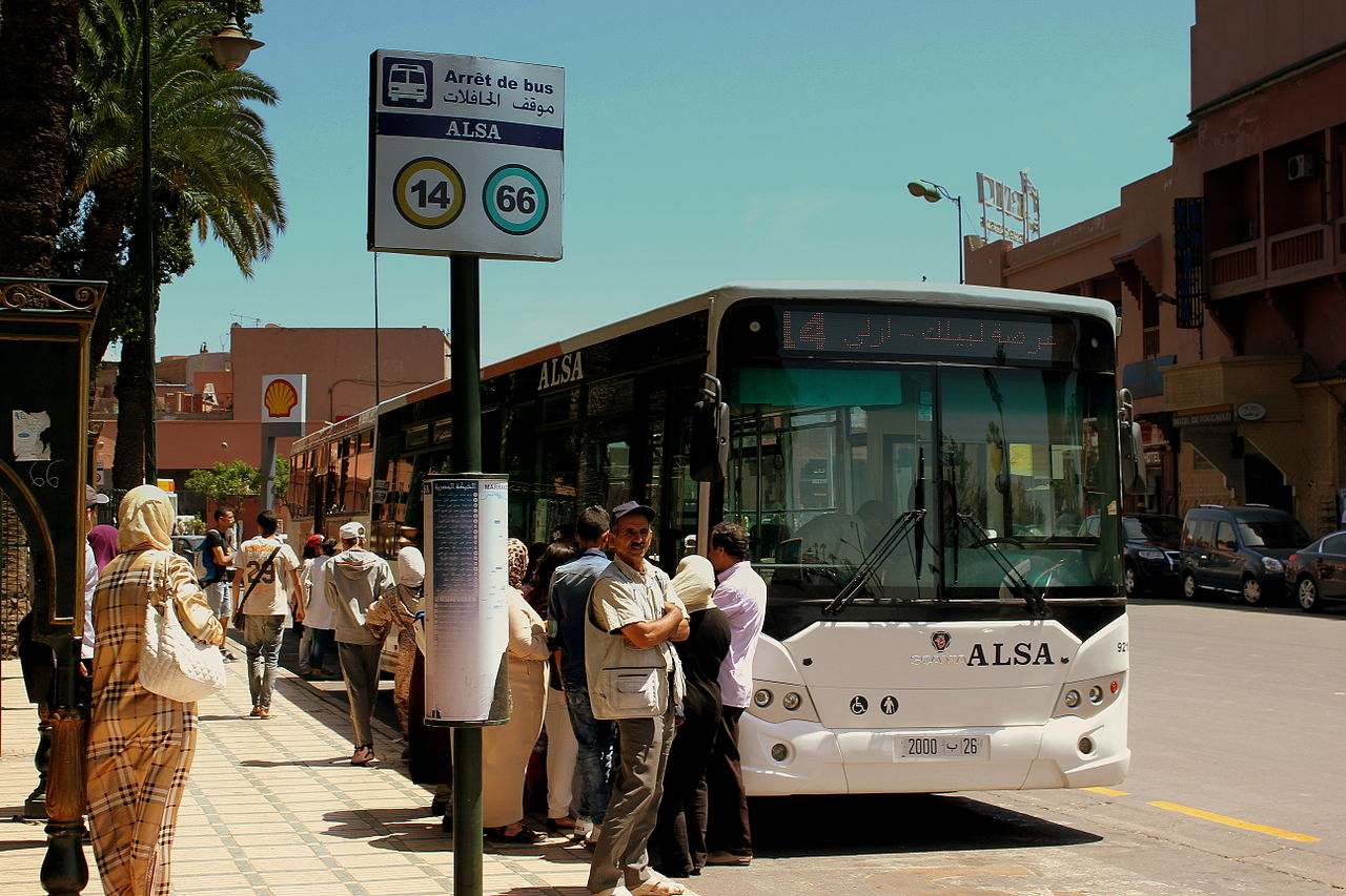 Image result for MOROCCO BUS
