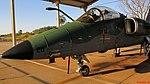 AMX A-1M na Academia da Força Aérea (AFA) em Pirassununga. O caça foi desenvolvido por um consórcio internacional, formado pelas empresas Embraer,(Brasil) Al - panoramio (2).jpg