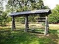 A Kozolec, a Slovenian hay rack at Harcourt Arboretum, Newnham Courtenay - geograph.org.uk - 1509558.jpg