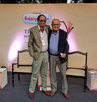 A. S. Dulat - A. S. Dulat (left) with his successor, former chief of RAW, Vikram Sood.