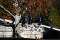 A U.S. Air Force honor guard marches down from the Tomb of the Unknowns at Arlington National Cemetery in Arlington, Va., during a Veterans Day wreath-laying ceremony Nov. 11, 2013 131111-D-DB155-015.jpg