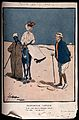 A fashionable lady with her servant in the desert bumps into Wellcome V0011620.jpg