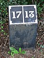 A mile marker along the Ashby Canal - geograph.org.uk - 931500.jpg