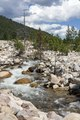 A raging stream in Rocky Mountain National Park in the Front Range of the spectacular and high Rockies in north-central Colorado LCCN2015633336.tif
