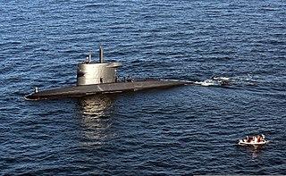 HNLMS <i>Dolfijn</i> (1990) Submarine