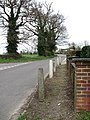 A very short section of pavement - geograph.org.uk - 757372.jpg