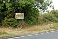 A warning sign beside the A423 road - geograph.org.uk - 1491181.jpg