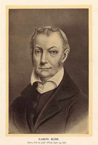 7th United States Congress - President of the Senate Aaron Burr