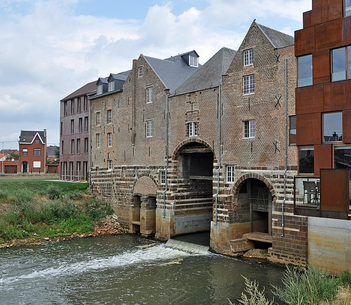 Aarschot (Belgium): the Hertogen watermills