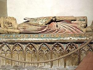 Murbach Abbey - Image: Abadia de Murbach Tomba de Eberhard