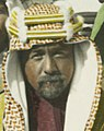 Abdullah I of Jordan face detail in Amman 1921 (cropped).jpg