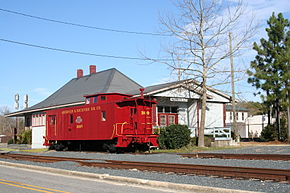 Aberdeen Train Station, North Carolina.JPG